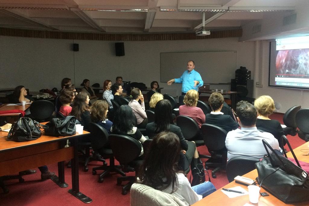 Lansarea programului de formare profesionala in Somatopsihopedagogie - Petros Liolios